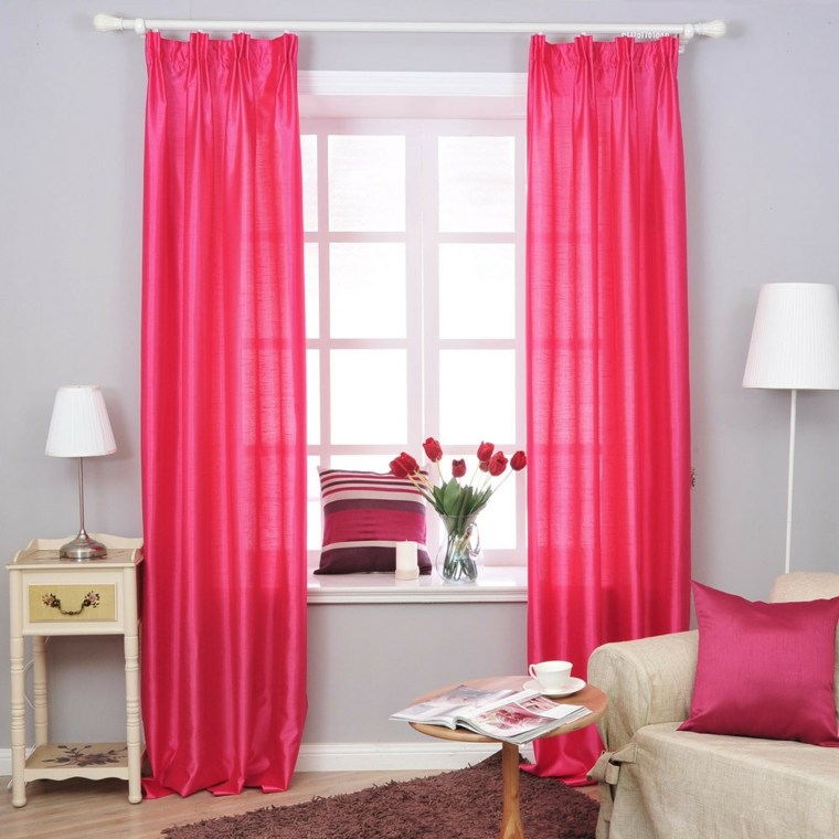 50 ideas decoraci n cortinas para 2018 hoy lowcost for Colores en paredes 2016