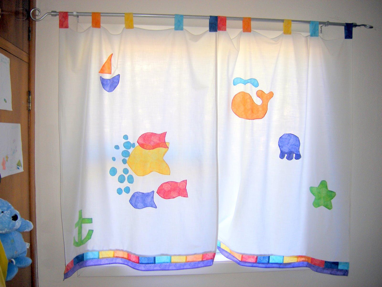cortinas de trabillas para bebe