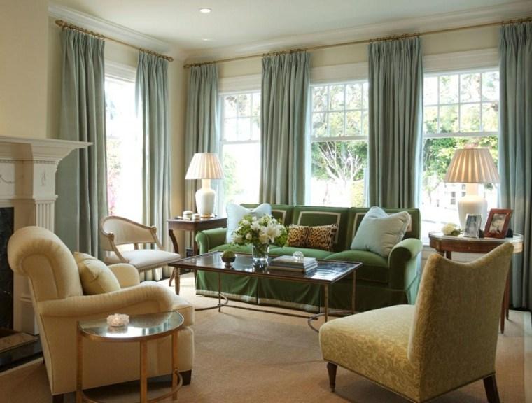 cortinas diseño salones
