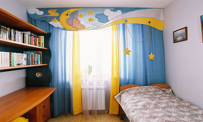 cortinas originales infantiles