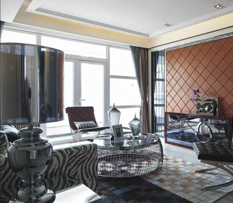 cortinas salones modernos