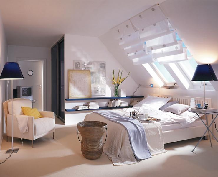 cortinas ventanas velux dormitorios matrimonio