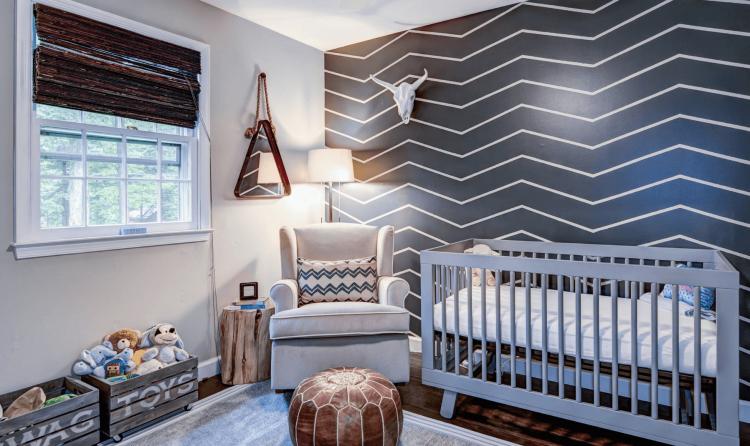 sillones en cuartos de bebe with ideas para decorar habitacion de bebe