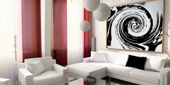 Decoracion 2016 cortinas salones hoy lowcost for Decoracion salones 2016