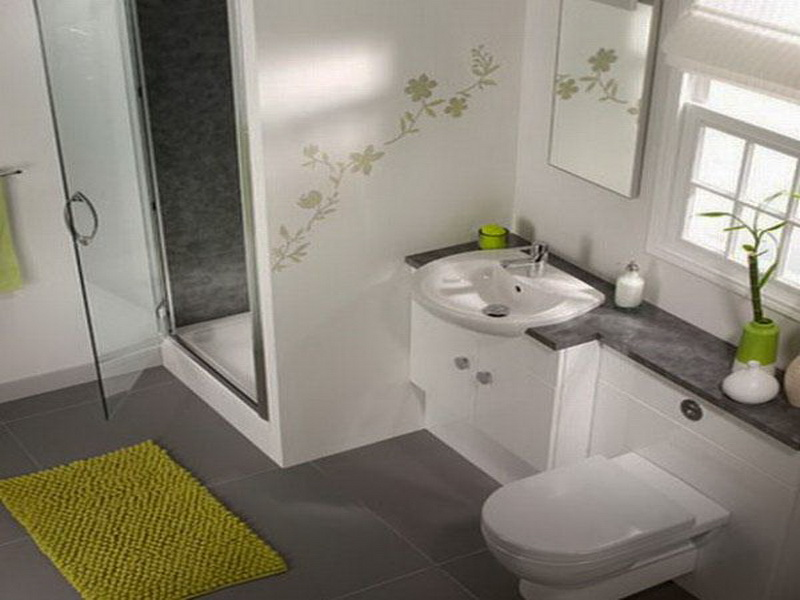 Decoracion Baños Actuales:Decorating Idea Small Bathroom Design
