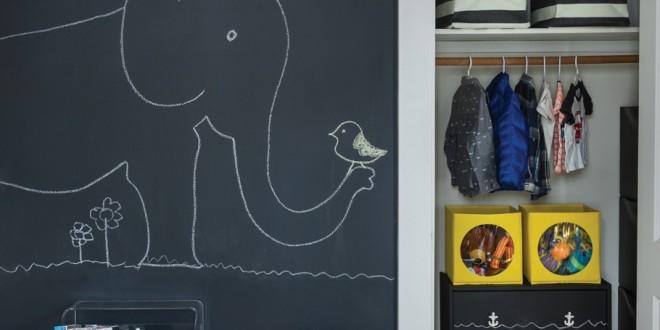 Decoracion habitaciones infantiles pintura pizarra hoy - Pintura habitaciones infantiles ...