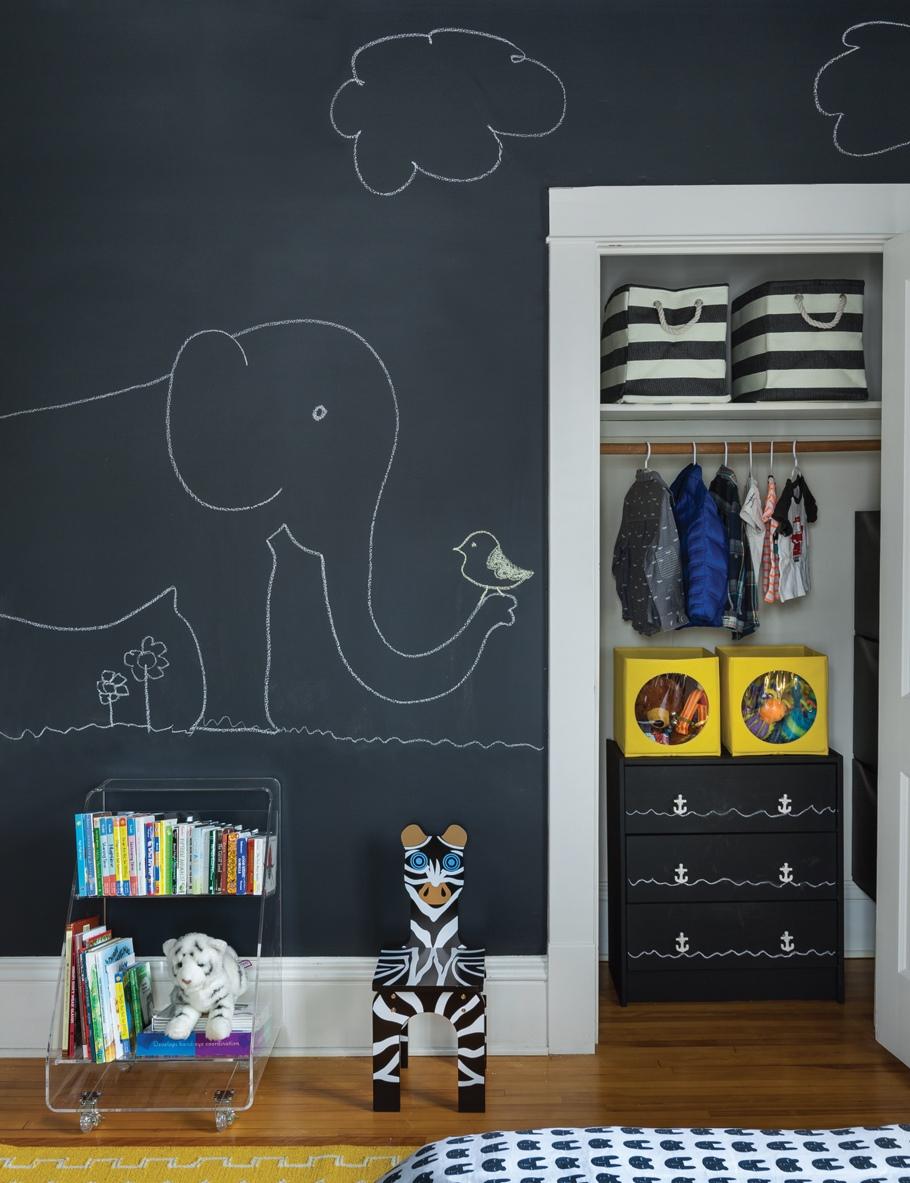 Decoracion Habitaciones Infantiles Pintura Pizarra Hoy Lowcost ~ Pintura Para Habitaciones Infantiles