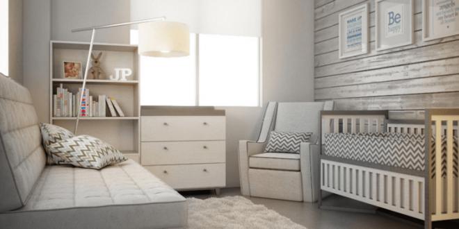 Decorar cuartos de bebe modernos hoy lowcost for Cuartos para bebes modernos