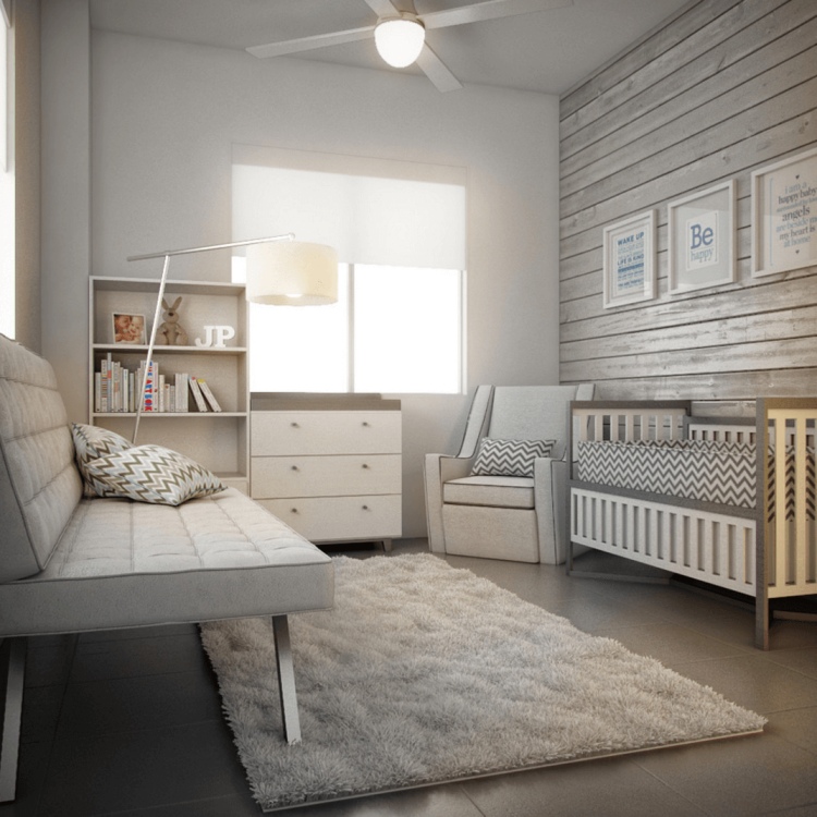 Habitacion decoracion moderna - Decoracion cuarto bebe ...