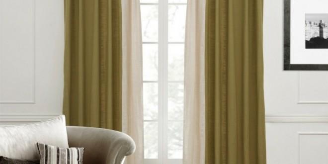 Dise o cortinas modernas salones hoy lowcost for Diseno cortinas salon