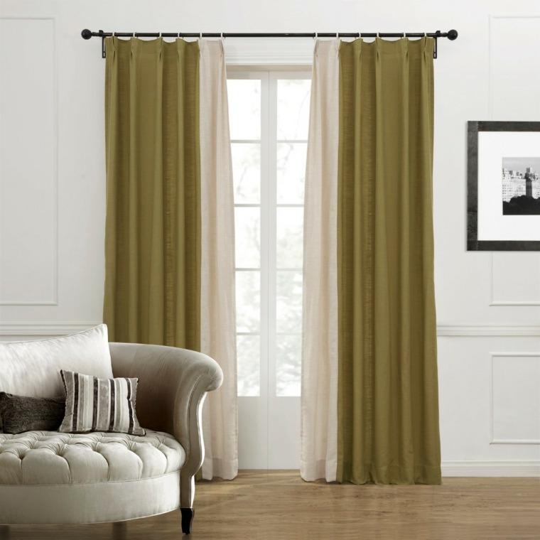 diseño cortinas modernas salones