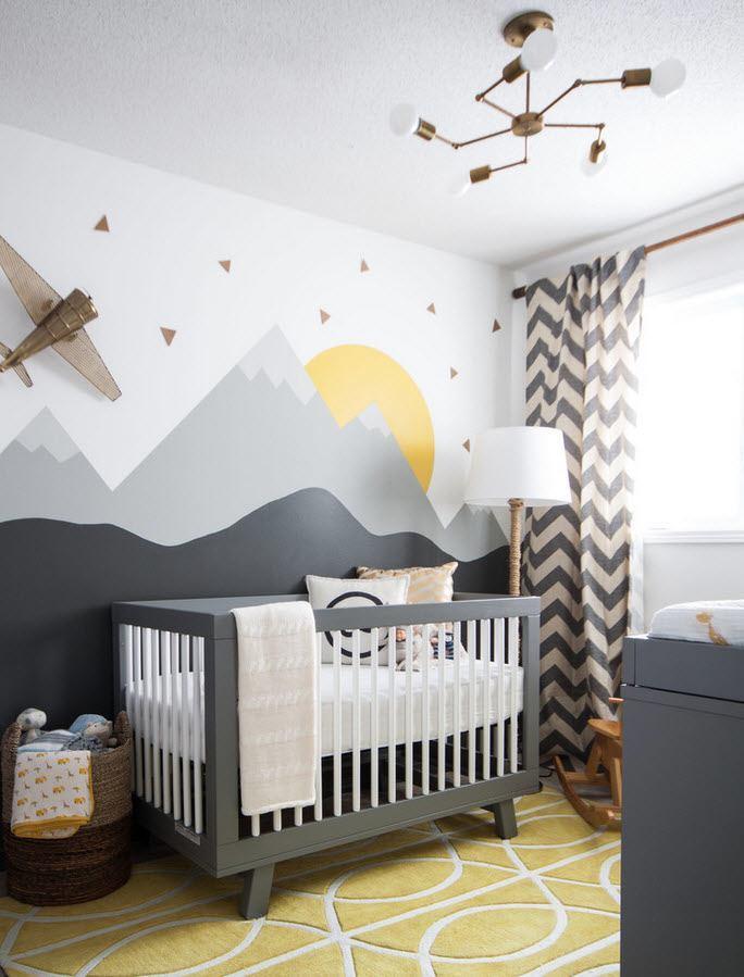 diseño habitacion bebe 2016