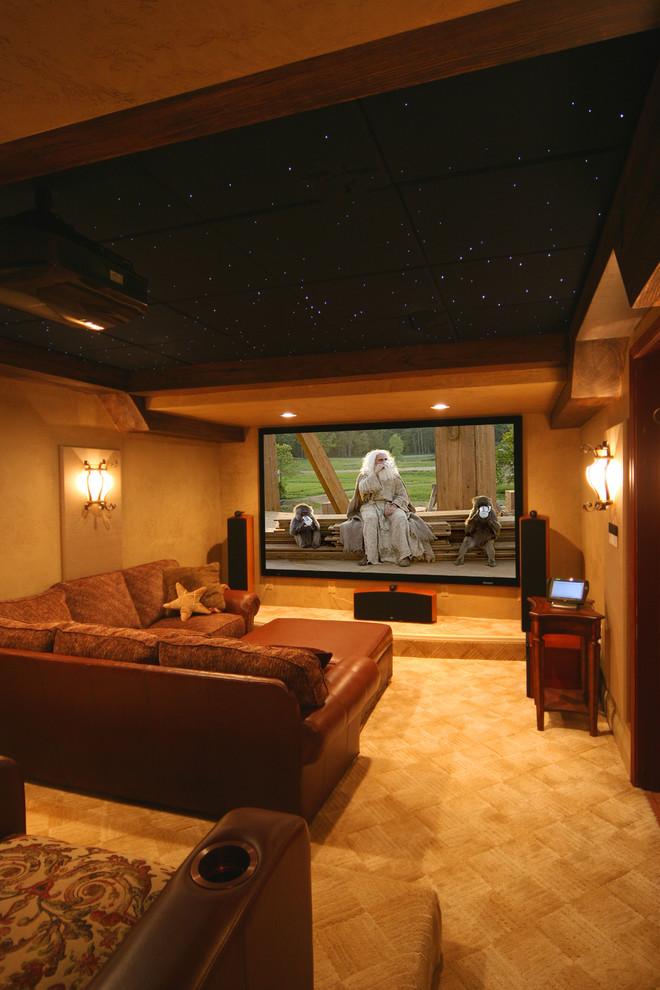 diseño salones television