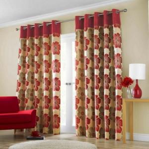 Dise os actuales cortinas salones hoy lowcost - Diseno de cortinas para salon ...