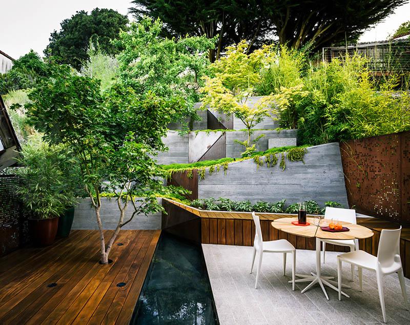 diseños jardines modernos