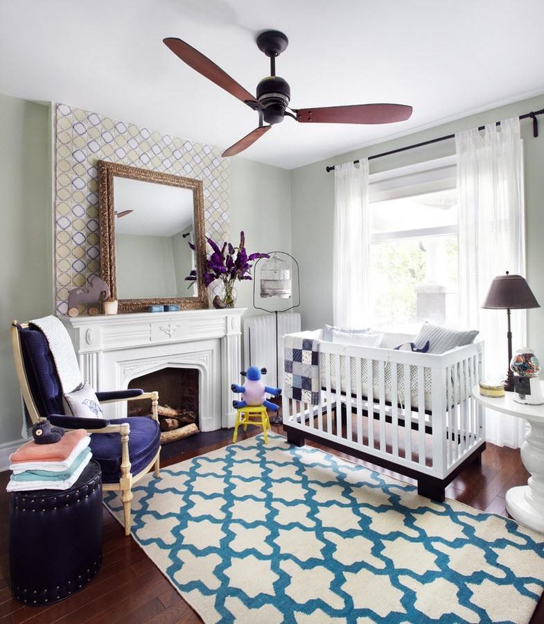 dormitorio bebe diseño clasico