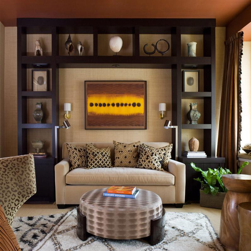 estanterias decoracion salones