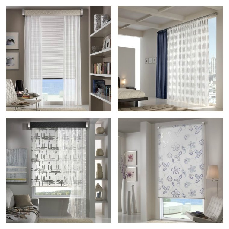 50 ideas decoraci n cortinas para 2018 hoy lowcost for Cortinas y estores modernos