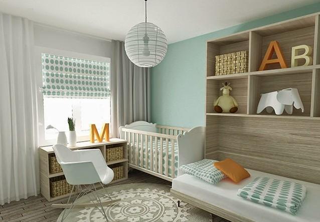 Cortinas para ventanas y su protagonismo hoy lowcost - Estores para habitacion de bebe ...