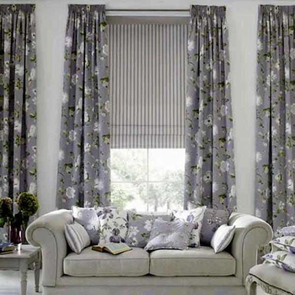 estores y cortinas para salones