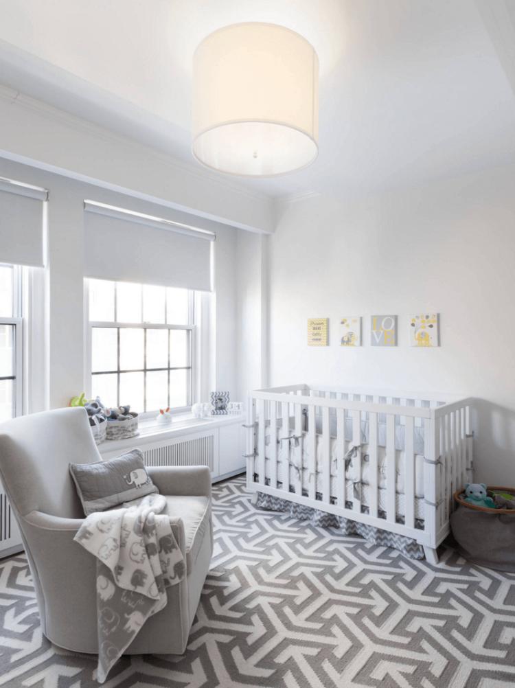 habitaciones niños recien nacidos modernas