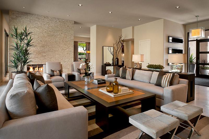 Idea Diseño Salon Moderno