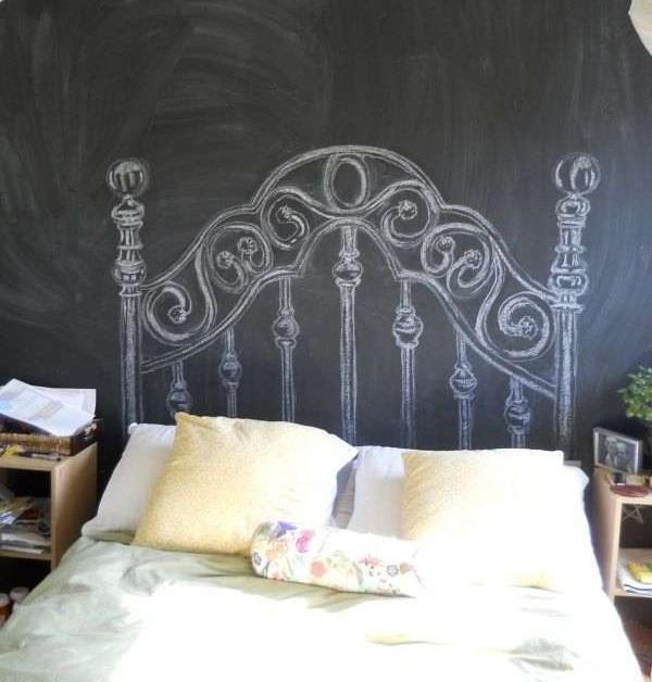 crear una decoracin de ambientes con poco dinero est plenamente aconsejado en la decoracin low cost existen varios costes en la pintura pizarra