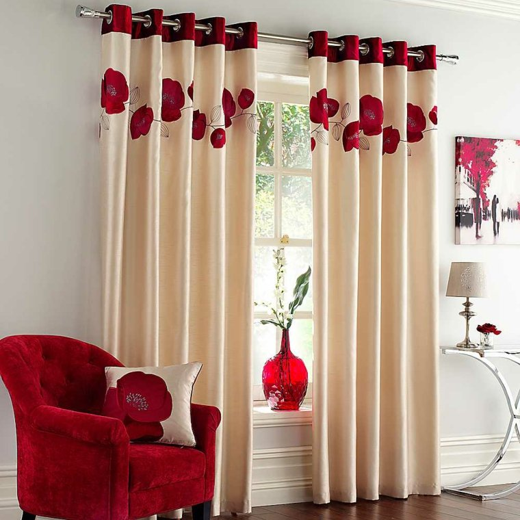 50 ideas decoraci n cortinas para 2018 hoy lowcost for Decoracion cortinas para cocinas modernas