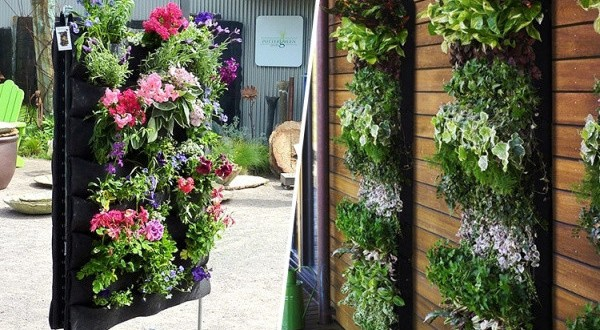 Ideas jardin vertical hoy lowcost for Jardin vertical pequeno