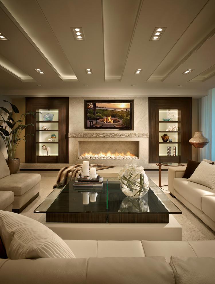 iluminacion salones decoracion