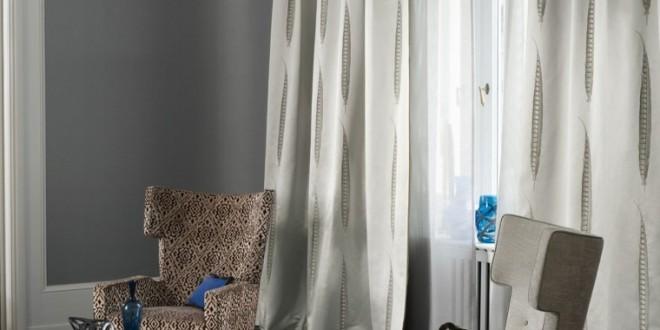 Moda telas cortinas hoy lowcost for Telas cortinas salon diseno
