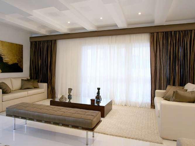 modelo de cortinas para salon