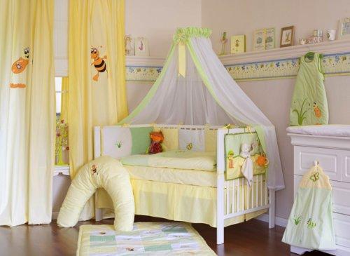 motivos infantiles en cortinas de bebe