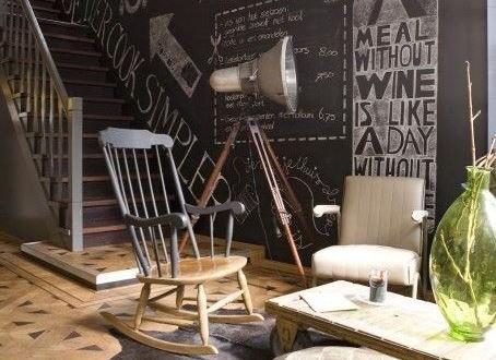 Paredes escaleras decoracion hoy lowcost - Decoracion paredes escaleras ...