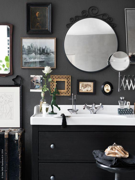 pintura de pizarra decoracion baños