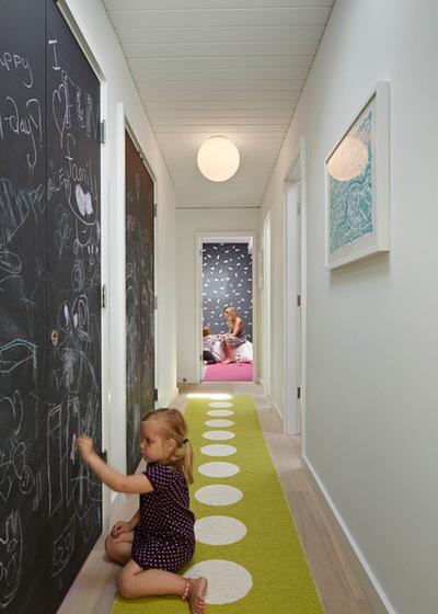 pintura de pizarra para pasillos