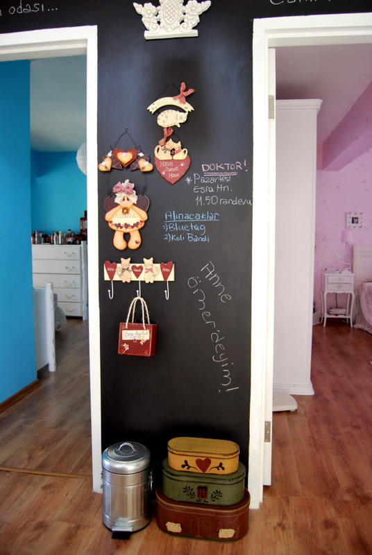 pintura pizarra decoracion recibidores