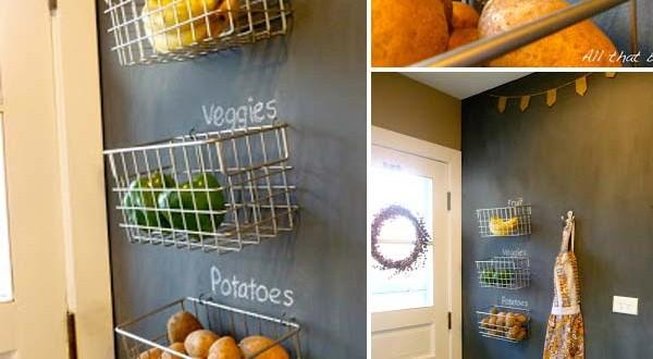 Pintura pizarra paredes cocinas hoy lowcost - Pintura paredes cocina ...