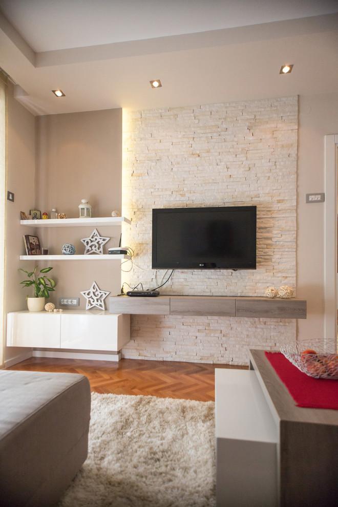 67 ideas decoraci n sal n para acertar hoy lowcost - Salones modernos pequenos ...