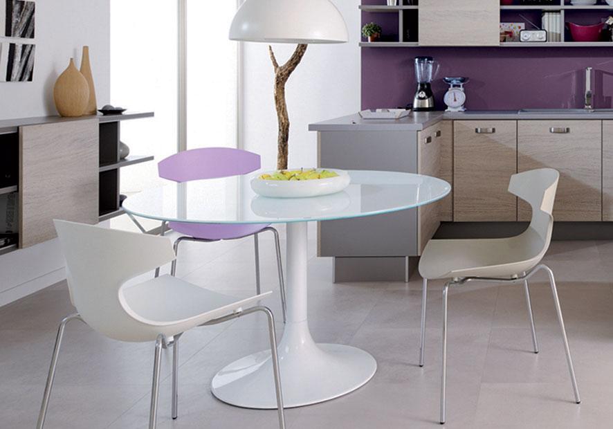 sillas de cocina blancas