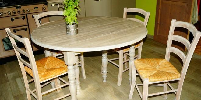 sillas de cocina con mesa redonda | Hoy LowCost