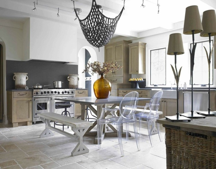sillas de cocina rusticas