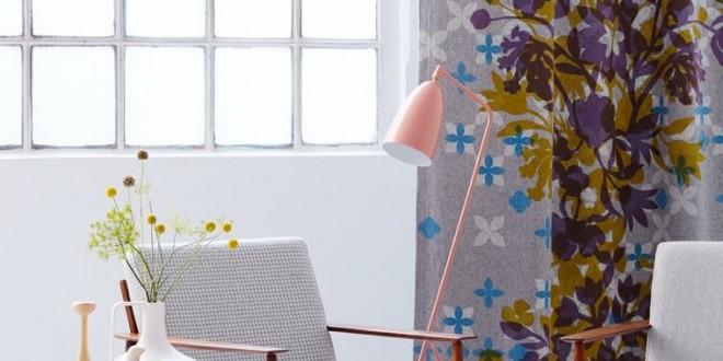 Telas estampadas cortinas modernas hoy lowcost for Cortinas estampadas modernas