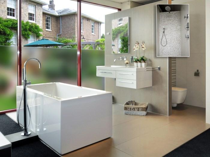 vinilos ventanas baños diseño