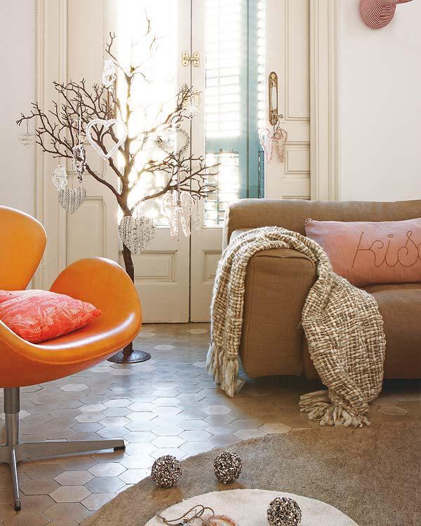 adornos en diseños de interiores