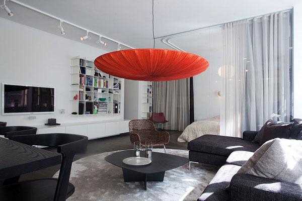 apartamento diseño interior moderno