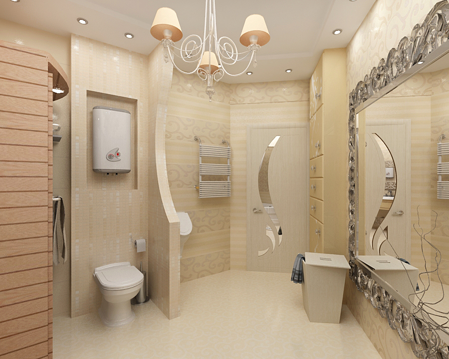 baño elegante moderno