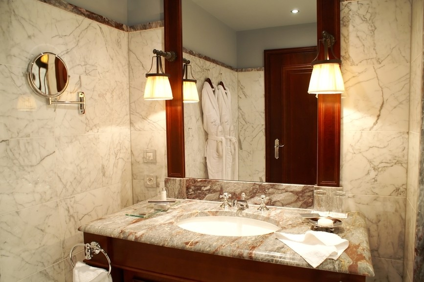 baños marmol casas lujosas