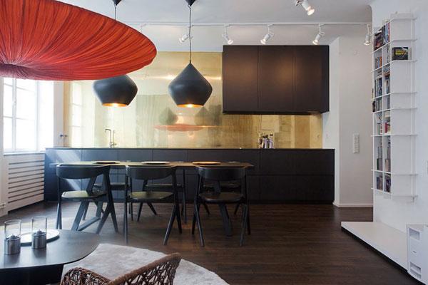 cocina integrada diseño de interiores