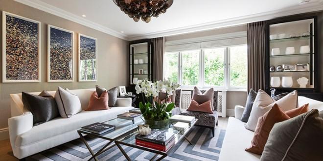 Cojines confort casas de lujo hoy lowcost for Departamentos decorados por dentro